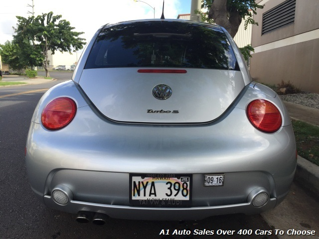 2004 Volkswagen Beetle Turbo S Hatchback