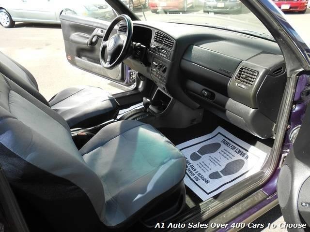 2000 Volkswagen Cabrio GLS Convertible